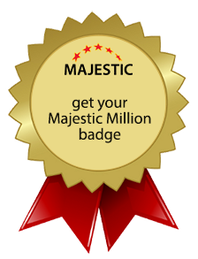 Get your own Majestic Million Badge.