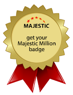 Get your own Majestic Million Badge